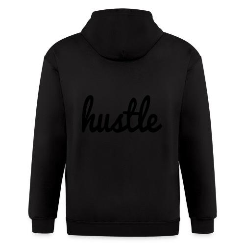 hustle vector - Men's Zip Hoodie