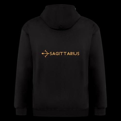 Sagittarius - Men's Zip Hoodie