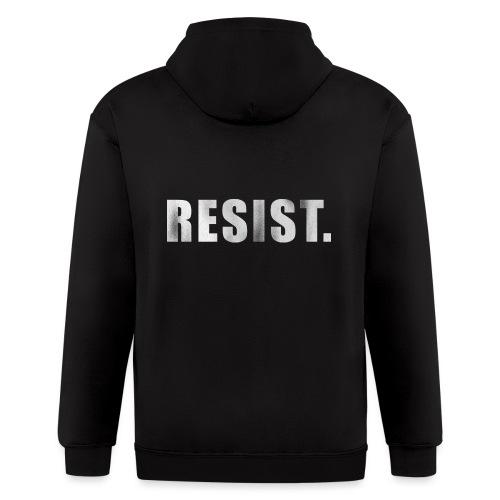 RESIST. - Men's Zip Hoodie