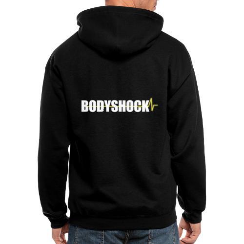 BodyShock Fitness TShirt - Men's Zip Hoodie