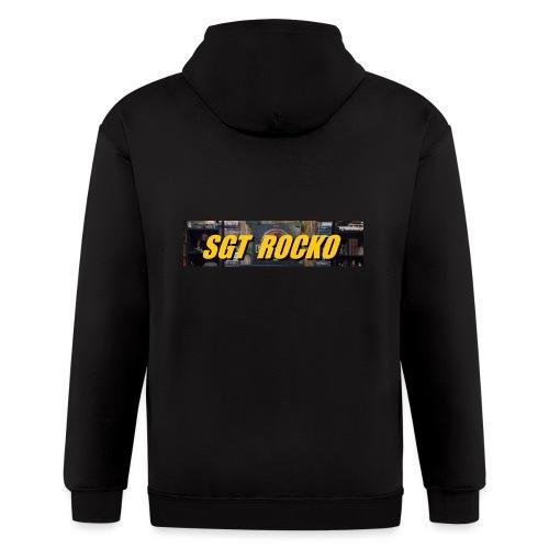 RockoWear Banner - Men's Zip Hoodie
