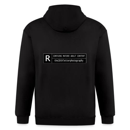 rated r - Men's Zip Hoodie