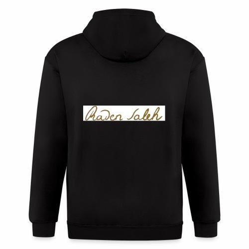 raden saleh signature shirts gross - Men's Zip Hoodie