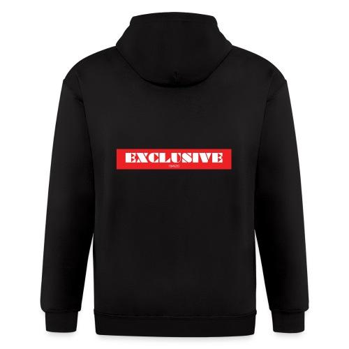 exclusive - Men's Zip Hoodie