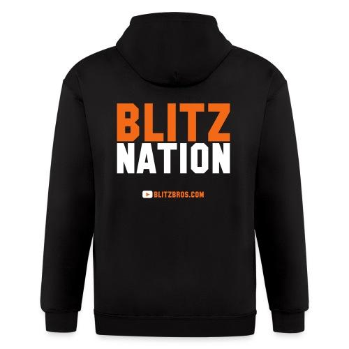 BLITZ NATION - MENS - Men's Zip Hoodie