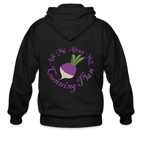 Ask Me About My Cunning Plan - Men's Zip Hoodie