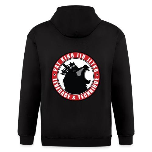 PK Merch grey22 - Men's Zip Hoodie