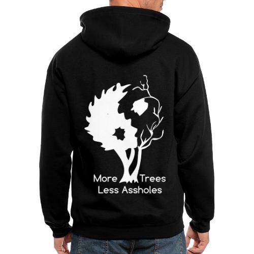 Yin Yang tree MTLA - Men's Zip Hoodie