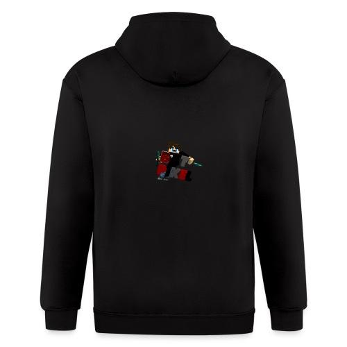 Batpixel Merch - Men's Zip Hoodie