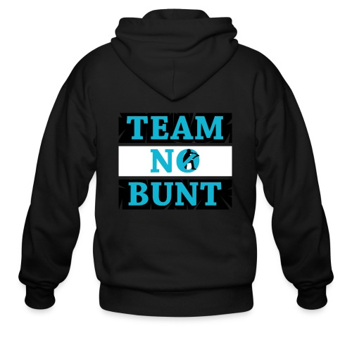 Team No Bunt - Men's Zip Hoodie