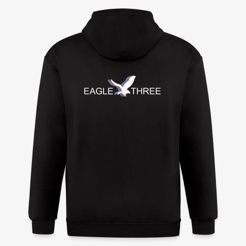 EAGLE THREE APPAREL - Men's Zip Hoodie