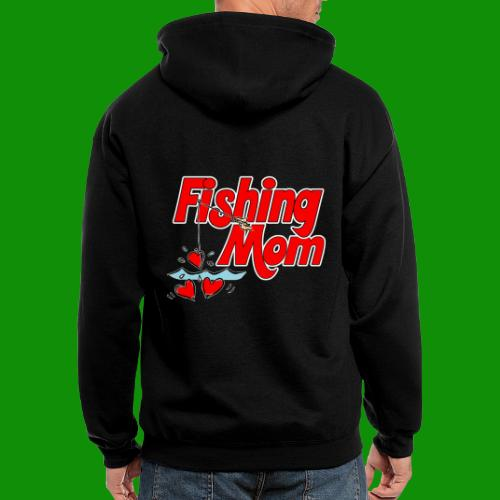 Fishing Mom - Men's Zip Hoodie