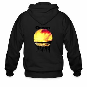 Ocean Blank sunset - Men's Zip Hoodie