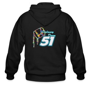Dalaney Dunn Racing Logo - Men's Zip Hoodie