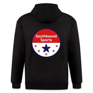 Southbound Sports Round Logo - Men's Zip Hoodie