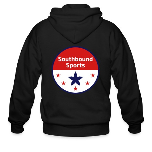 Southbound Sports Round Logo - Men's Zip Hoodie