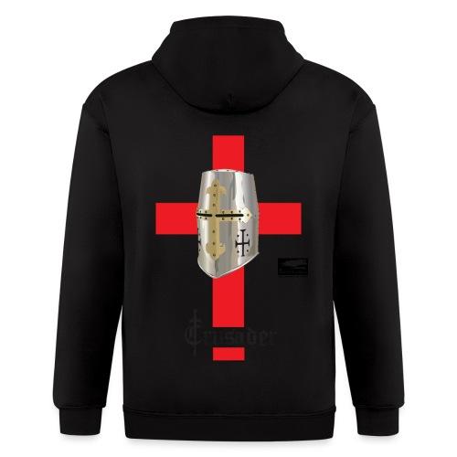 crusader_red - Men's Zip Hoodie