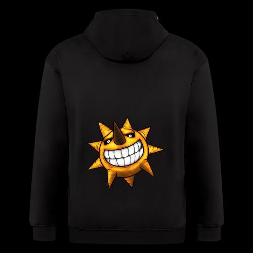 Soul Eater Sun - Men's Zip Hoodie