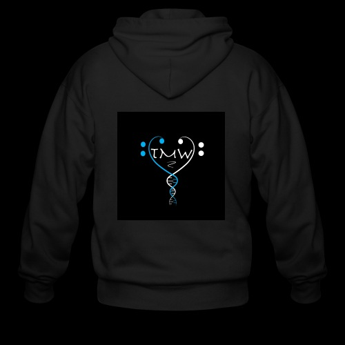 the music within logo - Men's Zip Hoodie