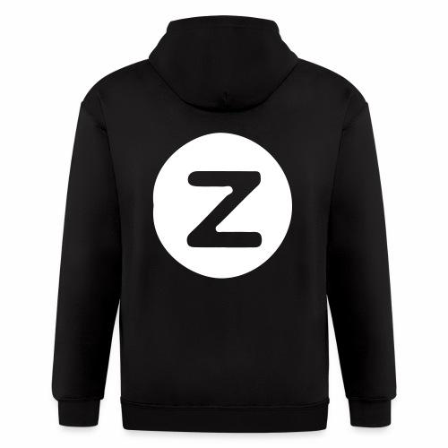 z logo - Men's Zip Hoodie