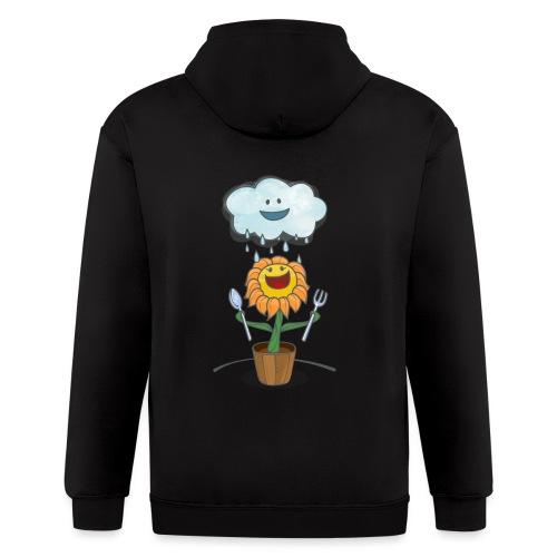 Cloud & Flower - Best friends forever - Men's Zip Hoodie