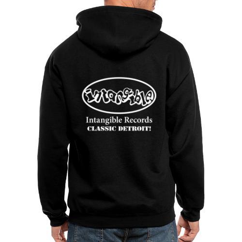 Intangible Vector Logo - Men's Zip Hoodie