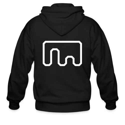 Metanet Software Logo - Men's Zip Hoodie