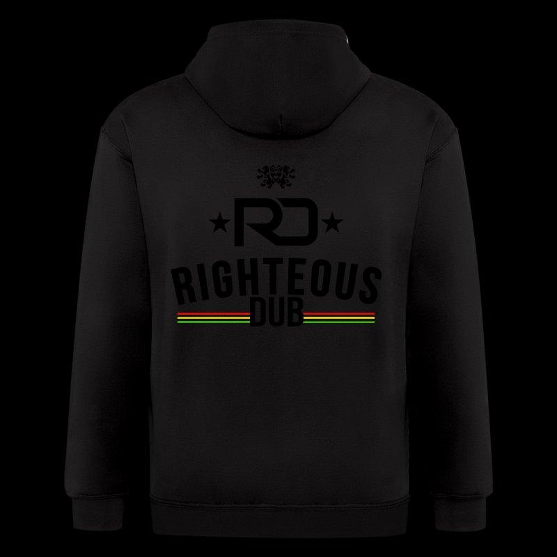 Righteous Dub Logo - Men's Zip Hoodie