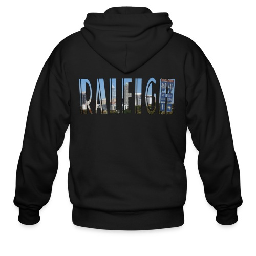 Raleigh Skyline Fall - Men's Zip Hoodie