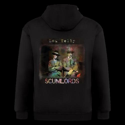 Lou Kelly - Scumlords Album Cover - Men's Zip Hoodie