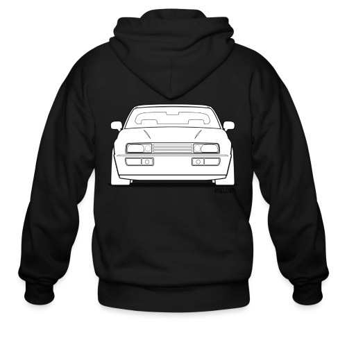 Wolfsburg Rado Outline - Men's Zip Hoodie