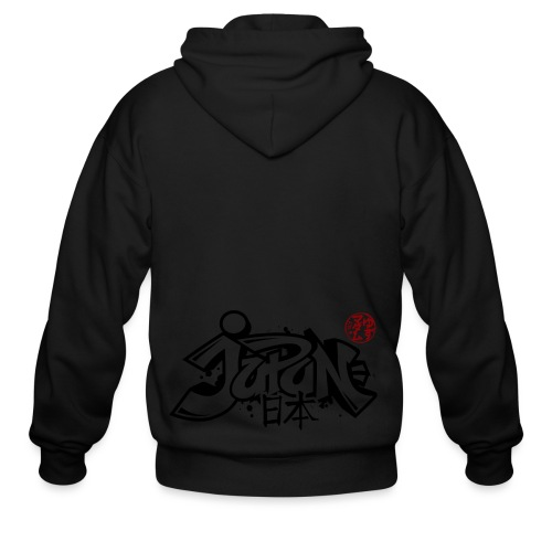 Japan-I - Men's Zip Hoodie