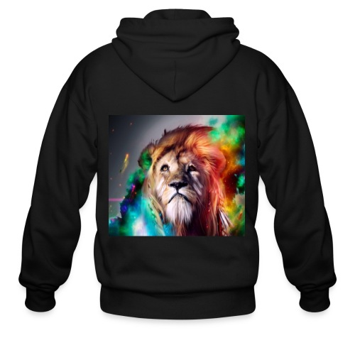 Lion Art - Men's Zip Hoodie