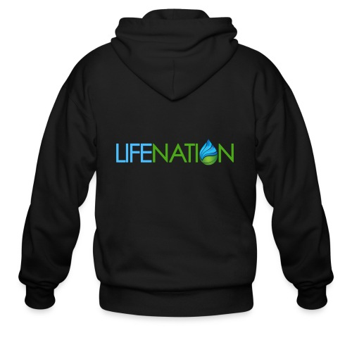 LIFENATION Color - Men's Zip Hoodie