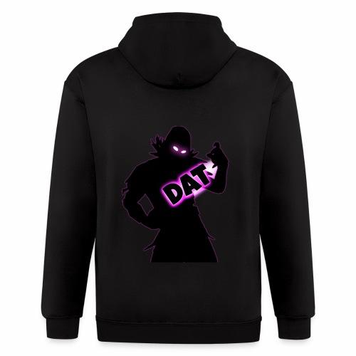DAT Raven V2 png - Men's Zip Hoodie