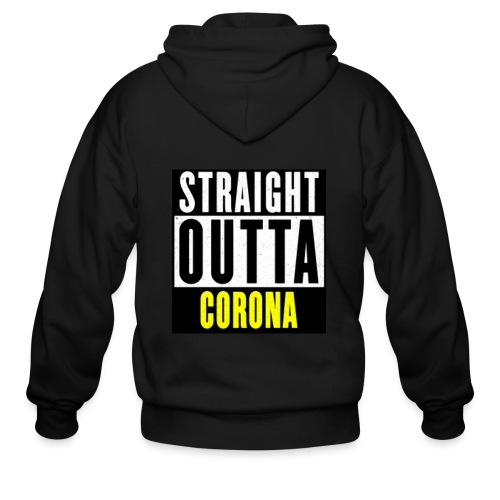 Straight Outta Corona - Men's Zip Hoodie