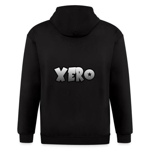 Xero (No Character) - Men's Zip Hoodie