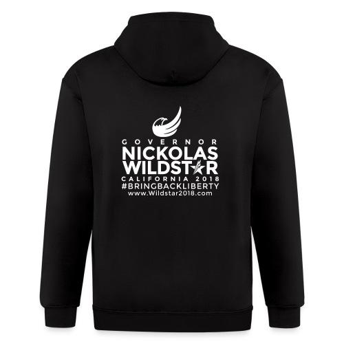 WILDMAIN1 - Men's Zip Hoodie