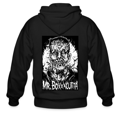 Mr. Boxxxcutta 2 - Men's Zip Hoodie