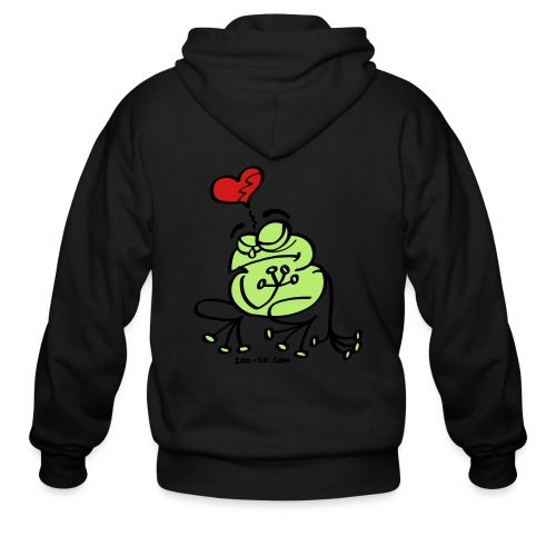 Broken Hearted Frog - Men's Zip Hoodie