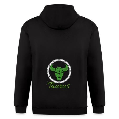 taurus - Men's Zip Hoodie