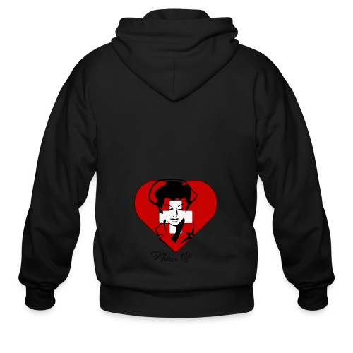 nurselife - Men's Zip Hoodie