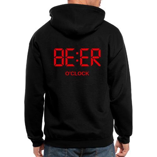 beer - Men's Zip Hoodie