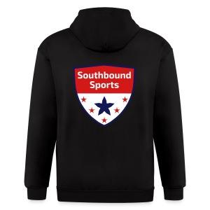 Southbound Sports Crest Logo - Men's Zip Hoodie