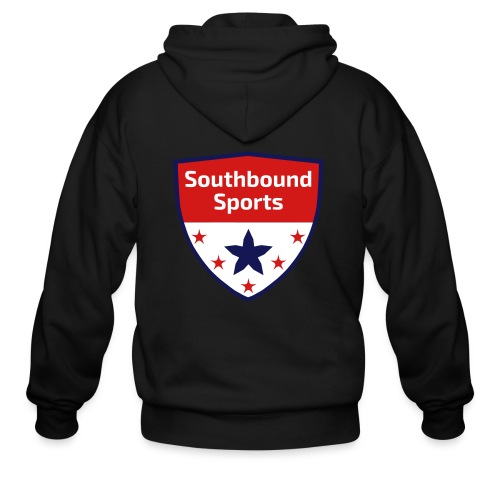 Southbound Sports Crest Logo - Men's Zip Hoodie