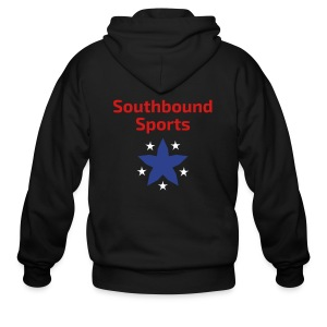 Southbound Sports Stars Logo - Men's Zip Hoodie