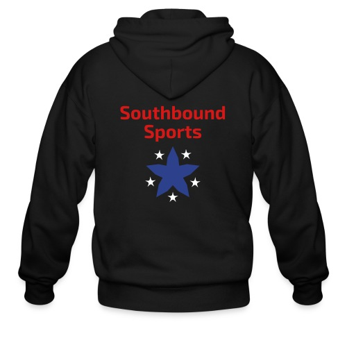 Southbound Sports Stars Logo - Men's Zip Hoodie
