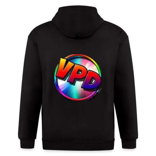 VPD LOGO - Men's Zip Hoodie
