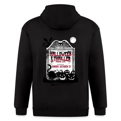 Thriller 2019 Lexington, Ky. Halloween Parade - Men's Zip Hoodie