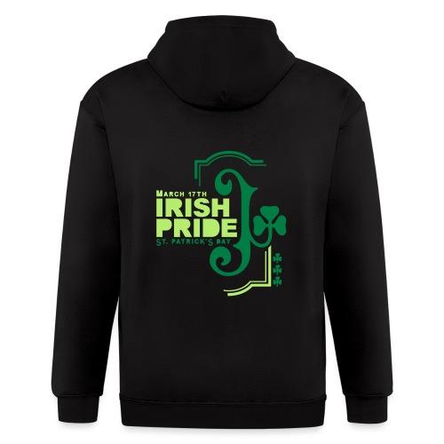 IRISH PRIDE - Men's Zip Hoodie